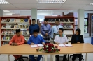 MoU Signing Ceremony between KUIM  and MMC