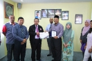 Photos during meeting with Sinar Haemodialysis Sdn Bhd